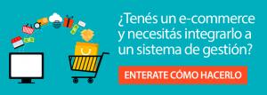 interfaz ecommerce y sistema de gestión